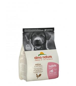 Almo Nature Cane Holistic Puppy Medium Pollo & Riso Disponibile nei formati 2 - 12 Kg