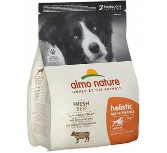 Almo Nature Cane Holistic Medium Manzo & Riso 2 Kg