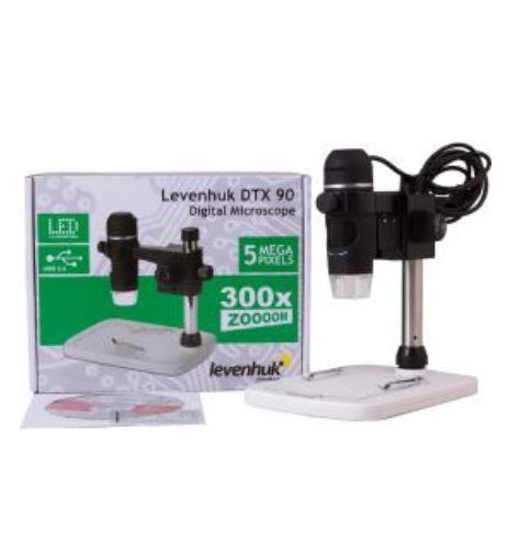 Microscopio Digitale Levenhuk DTX 90 con USB e Treppiede Professionale