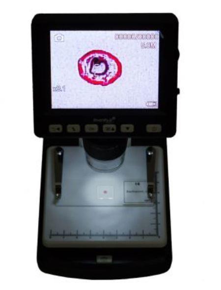 Microscopio Digitale Levenhuk DTX 500 LCD, con USB e Schermo LCD