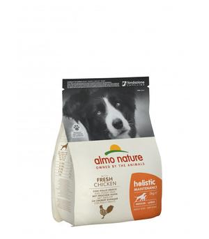 Almo Nature Cane Holistic Medium Pollo & Riso Disponibile nei formati 2 - 12 Kg