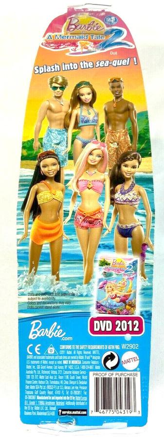 Barbie - Ken in costume da bagno - Mattel W2902 - 3+ anni
