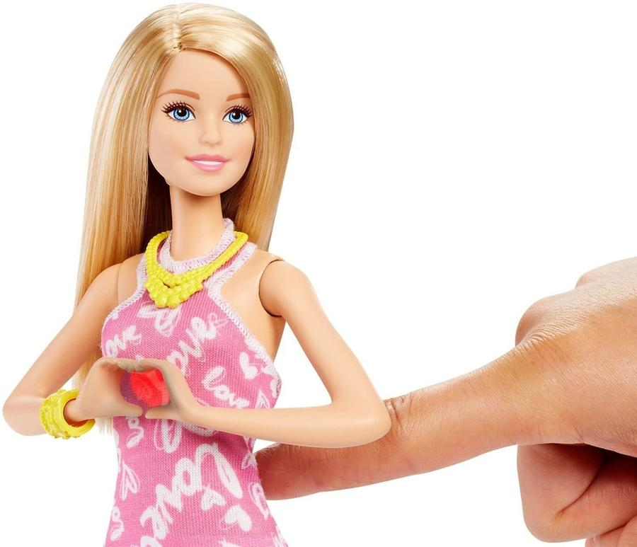 Barbie - Il cuore si illumina di rosso - Mattel DNC16 - 3+ anni