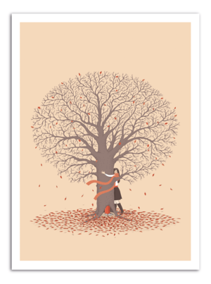 TREE - Autumn Art Print