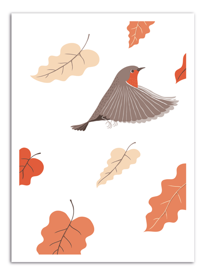 FLY - Autumn Art Print