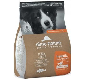 Almo Nature Cane Holistic M-L Tonno & Riso Disponibile nei formati 2 - 12 Kg