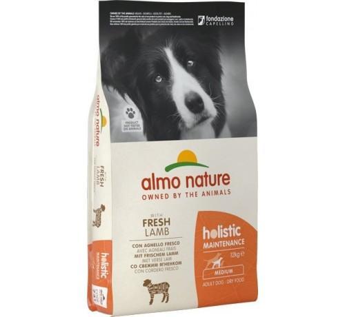 Almo Nature Cane Holistic Medium Agnello & Riso Disponibile nei formati 2 - 12 Kg