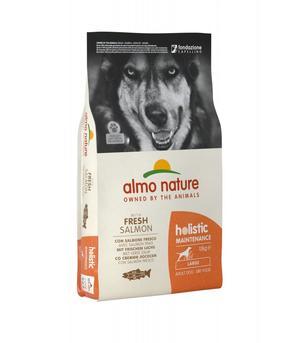 Almo Nature Cane Holistic Large Salmone & Riso 12 Kg