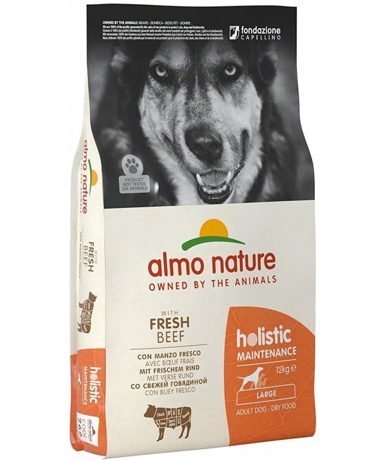 Almo Nature Cane Holistic Large Manzo & Riso 12 Kg