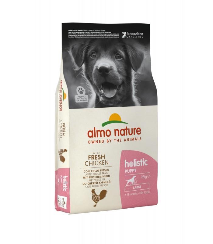 Almo Nature Cane Holistic Puppy Large Pollo & Riso 12 Kg