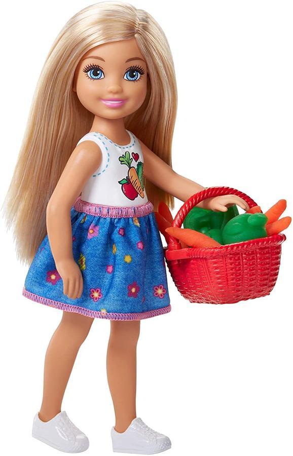 Barbie - Chelsea e Playset dell'Orto - Mattel FRH75 - 3+ anni