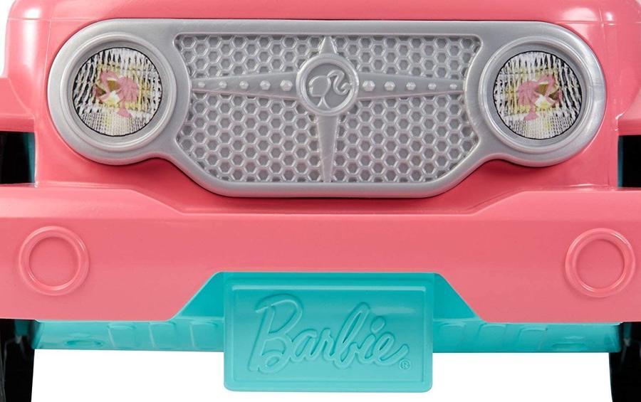 Barbie - Veicolo Jeep e due bambole incluse - Mattel FPR59 - 3+ anni