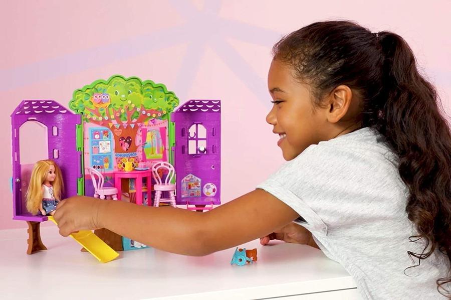 Barbie  Club Chelsea - La casa sull'albero - Mattel FPF83 -3+ anni