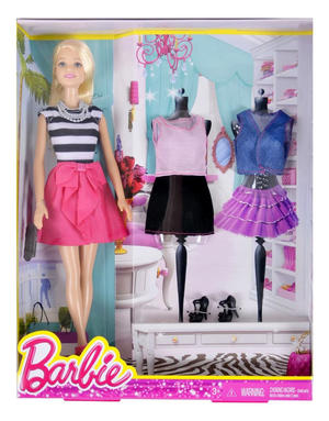 Barbie Fashion Creation Ouitfit and Shoes - Mattel DMK54 - 3+ anni