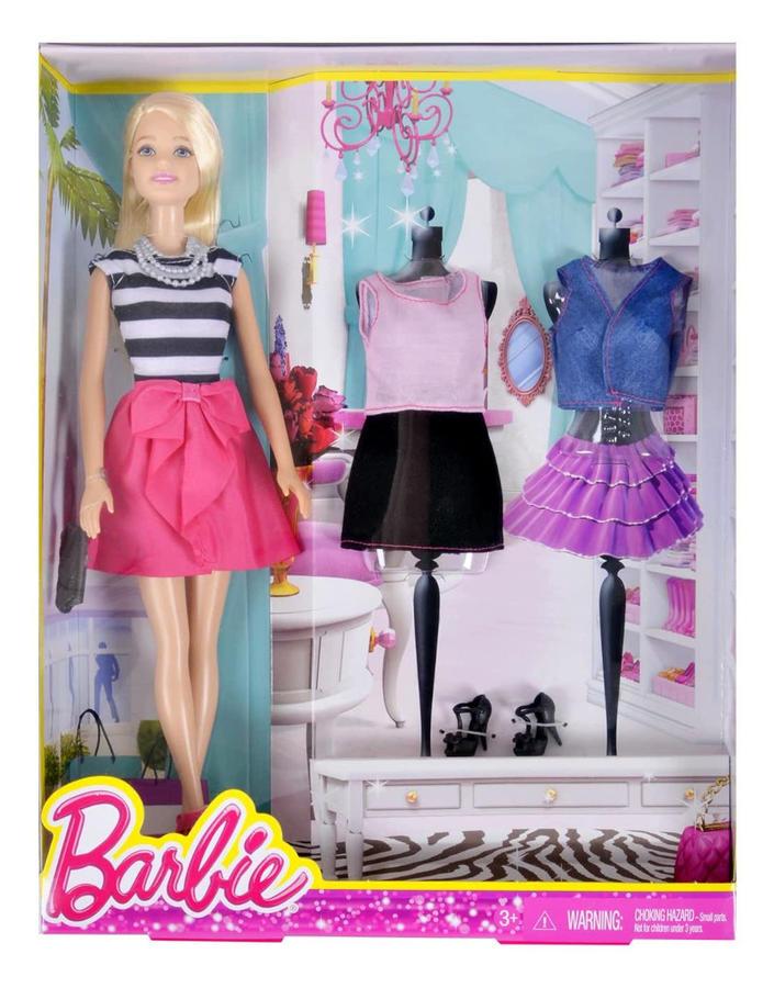 Barbie Fashion Creation Ouitfit and Shoes - Mattel DMK54 - 3+ anni