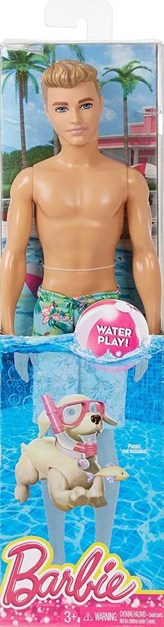 Barbie - Ken Beach - Mattel DGT83 - 3+ anni