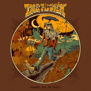 THE PILGRIM - WALKING INTO THE FOREST         LP(Colored Splatter White/Brown or Solid Blue Marine)/Digipack (Heavy Psych Sounds)