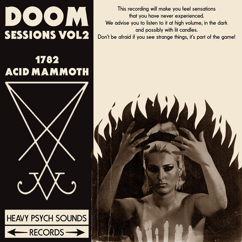 DOOM SESSIONS - Volume 2  1782/Acid Mammoth LP / DIGIPACK (Heavy Psych Sounds)