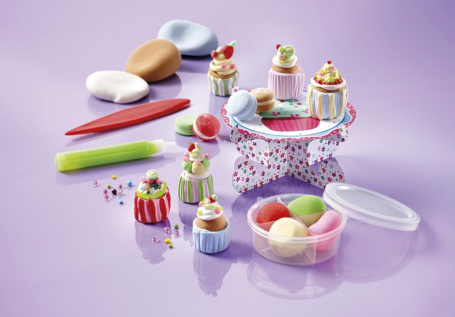 Cupcake Factory kit per creare cupcake in pasta modellabile