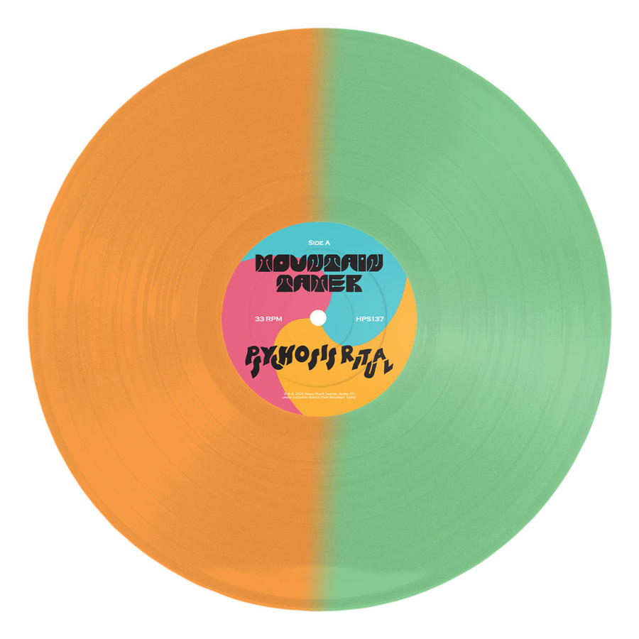 MOUNTAIN TAMER - PSYCHOSIS RITUAL        Lp (Ultra Limited Splatter GreenOrange/Limited Edition Solid Blue)/Digipack