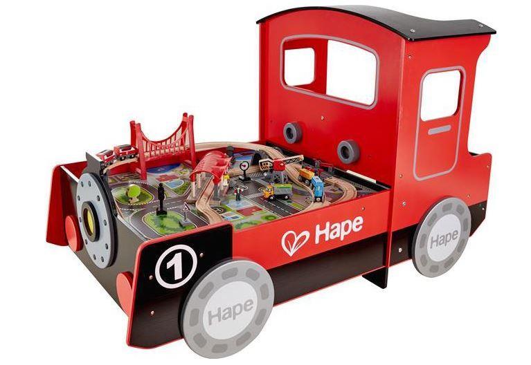 Tavolo da gioco Treno Locomotiva in Legno di Hape