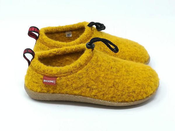 Pantofola Lana Cotta Mais - BIOLINE