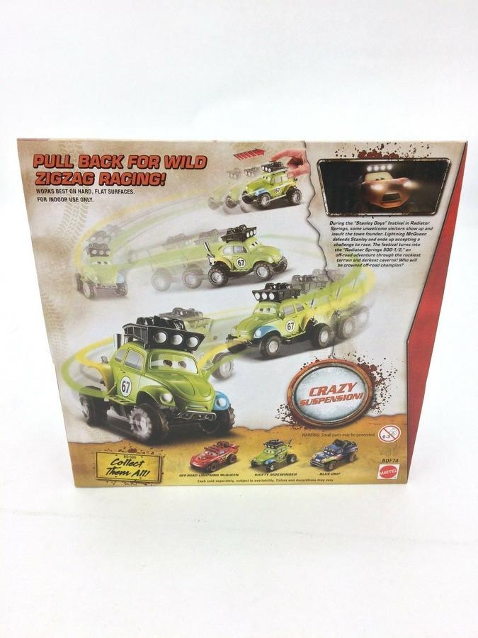 Cars - Shifty Sidewinder Auto a retrocarica - Mattel BDF74 - 3+ anni
