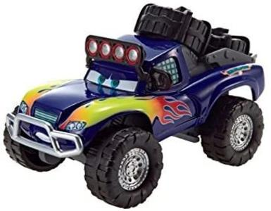 Cars - Blue Grit Auto a retrocarica - Mattel CBJ45 - 3+ anni