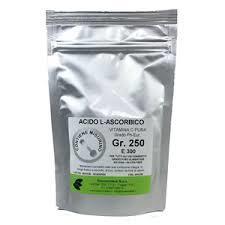 Acido Ascorbico 250 gr - Vitamina C - NO OGM - Qualità farmaceutica