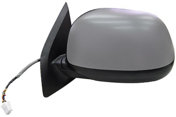 Specchio Retrovisore Sinistro Citroen C-Crosser Peugeot 4007 Elettrico con Primer