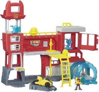 Transformers - Rescue Bots Comando dei pompieri di Griffin Rock - Hasbro B5210 - 3+ anni