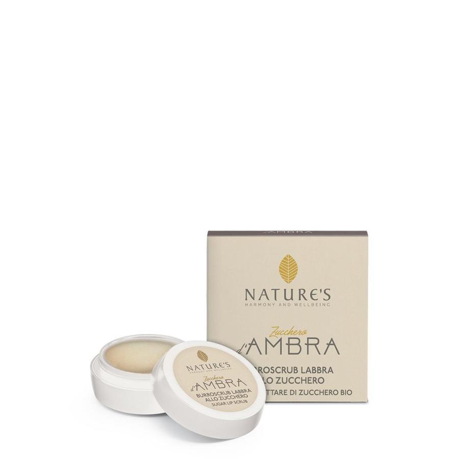Burroscrub Labbra Zucchero d'Ambra 8 ml