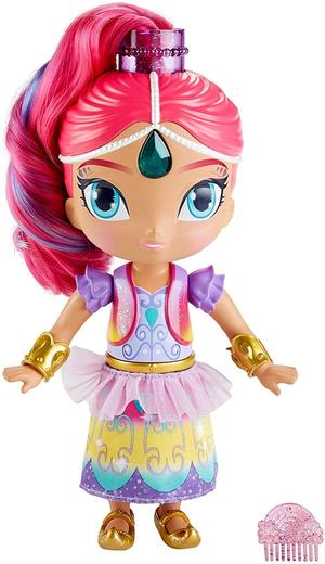 Shimmer & Shine - Bambola Shimmer parlante 28 cm - Fisher-Price FVM96 - 3+ anni