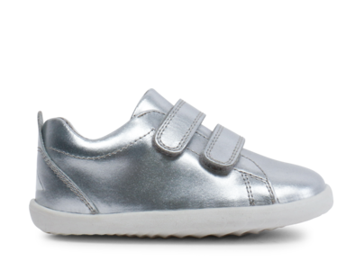 Bobux - Step Up - Grass Court Waterproof - Silver