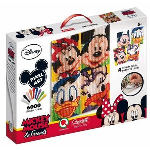 Mickey Mouse & Friends - Pixel Art - Quercetti 0807 - 5+ anni
