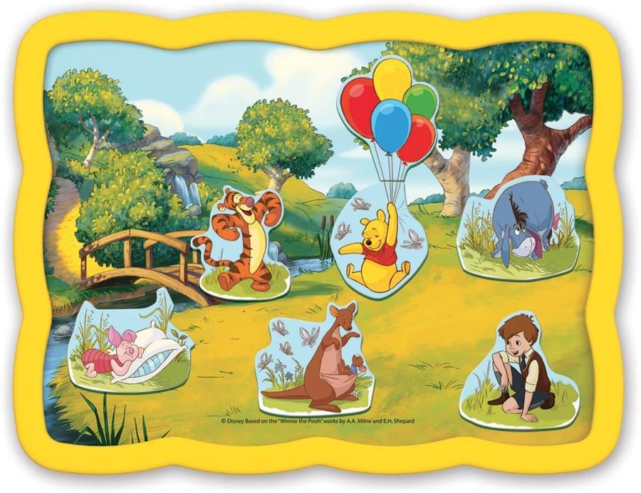 Winnie the Pooh - Smart Puzzle Magnetico - Quercetti 0236 - 24+ mesi