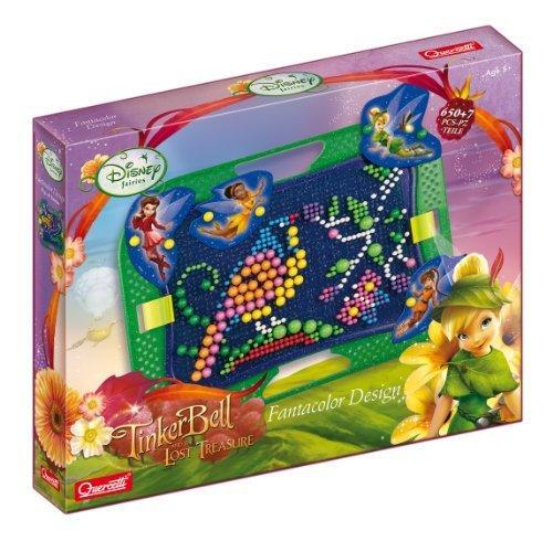 TinkerBell - Fatine Disney Fatacolor Design - Quercetti 7315 - 5+ anni