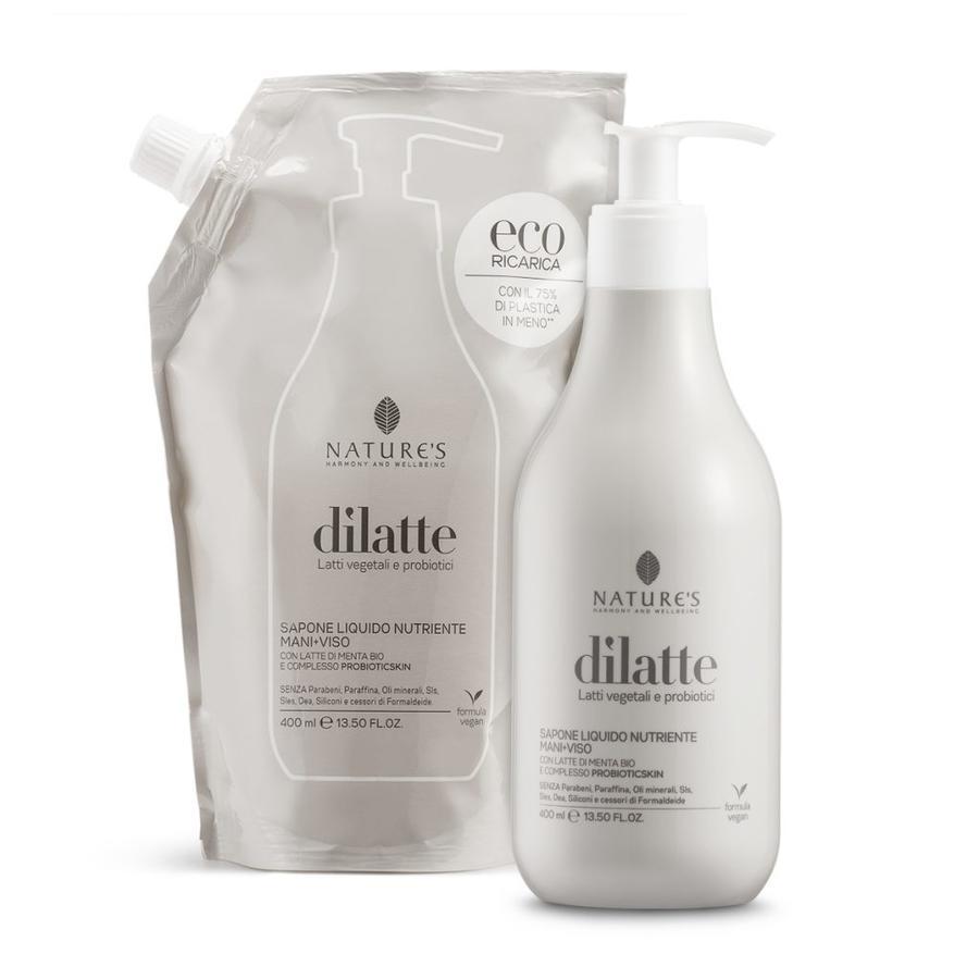 Sapone Liquido Nutriente Mani+Viso Eco-ricarica 400 ml -
