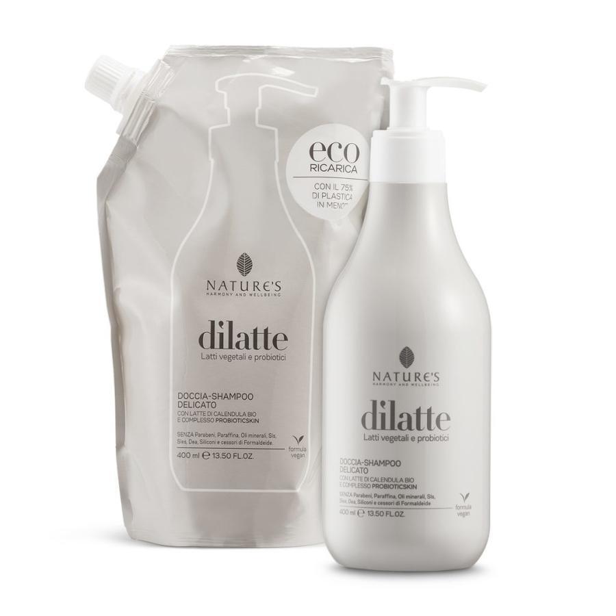 Doccia-shampoo delicato Dìlatte Flacone 400 ml