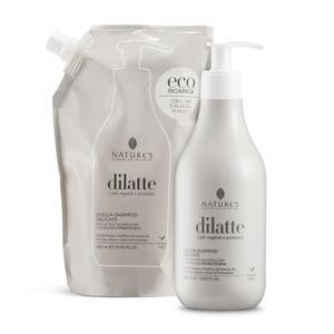 Doccia-shampoo delicato Dìlatte Eco-ricarica 400 ml