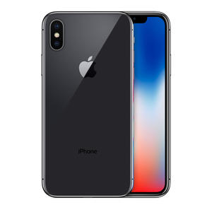 iPhone X 64GB  Silver Gray