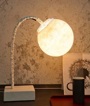 Lampada da Tavolo Micro T Collezione Luna di In-es.artdesign, Varie Finiture - Offerta di Mondo Luce 24