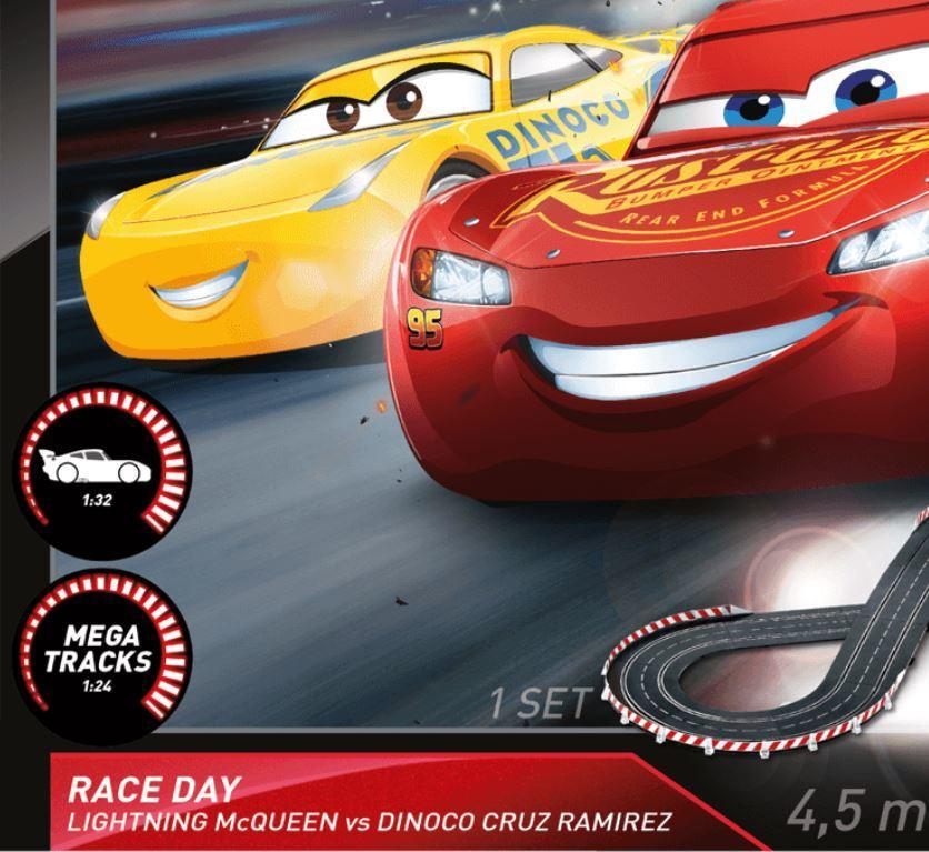 Autopista Elettrica Carrera EVOLUTION Disney Pixar Cars - Race Day
