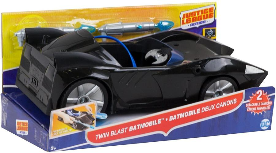 Batman - Twin Blast Batmobile -- Mattel FDF02 - 3+ anni