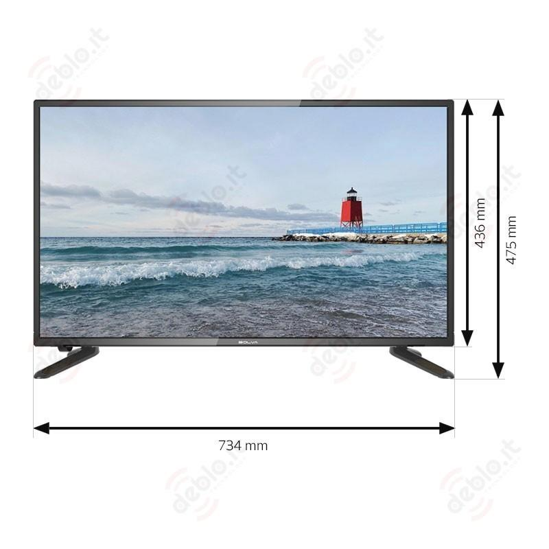 BOLVA TV 32 BL-3266 HD READY DVB-T2 ITALIA