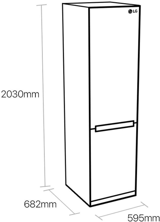 LG FRIGO COMBI GBB72PZEFN 420LT NOFROST A+++ INOX