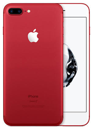iPhone 7 Plus 128GB colore RED