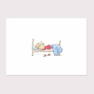 JANE MASSEY STAMPA A4 FIRMATA: SLEEPY HEAD