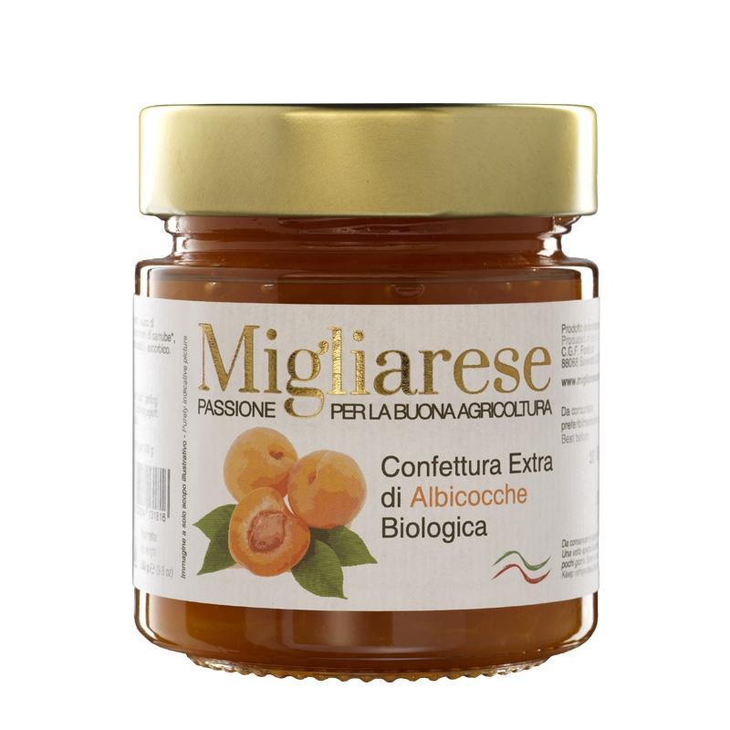 Confettura extra di Albicocche Bio, Migliarese, 280 gr