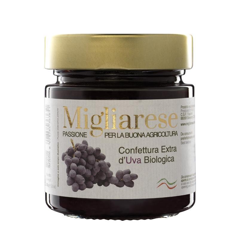Confettura extra d'Uva Bio, Migliarese, 280 gr